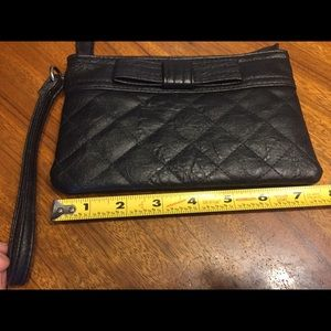 American Eagle Outfitters Faux Leather Wristlet